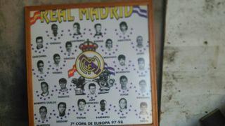 cuadro real Madrid
