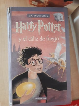 Libro Harry Potter 4