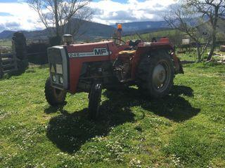 Tractor con rotabator