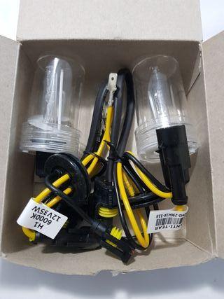 juego de bombillas H1 kit xenon