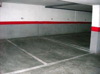 Se alquila plaza de garaje Museros