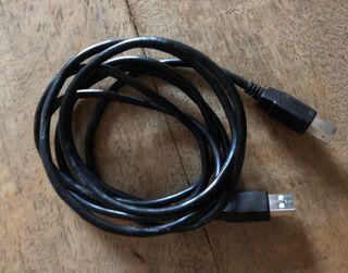 Câble pour connexion imprimante
