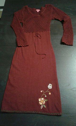 talla M vestido de Mango