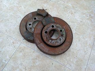 Discos de freno traseros Leon Cupra r 1M