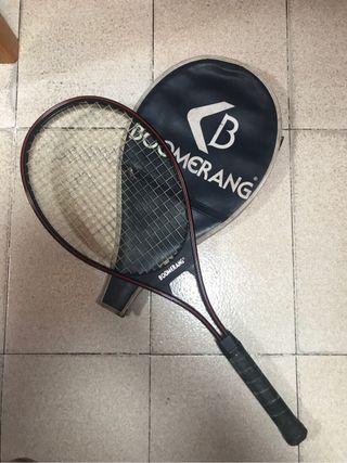 Raqueta tenis boomerang