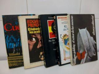 lote de 5 libros narración ligera