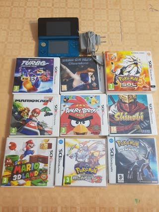 juegos y consola nintendo 3DS