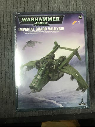 Valkyria Guardia Imperial Warhammer 40k
