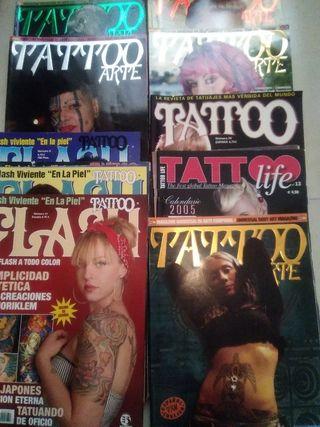 Revistas tatuajes