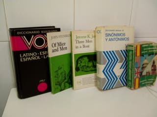 lote de 5 libros para estudio