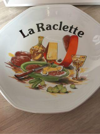 Plat a raclette