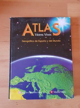 Atlas geográfico de España y del Mundo