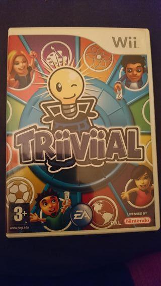 Juego Triiviial de la Wii