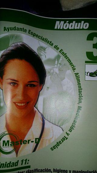 Material didáctico auxiliar de enfermería