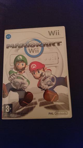 Juego Mario Kart de la Wii