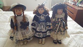 muñecas porcelana coleccion promenade