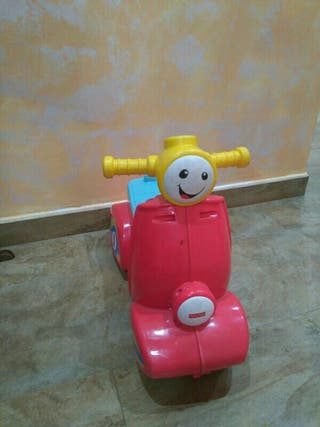 moto correpasillo juguete fhiser price