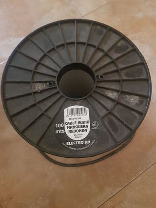 cable de audio manguera redonda