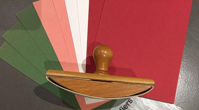 Tampon Buvard à bascule en bois - années 30-40