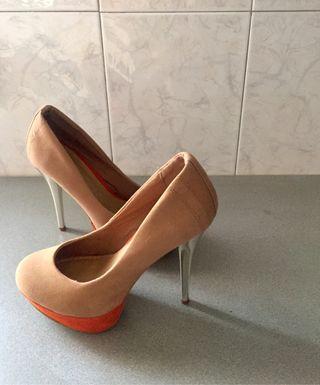 Zapatos de tacón alto de segunda mano en WALLAPOP 32dc4072ee49