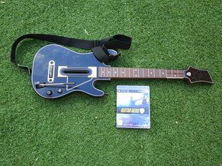 Juego Guitar Hero Live + Guitarra para PS3
