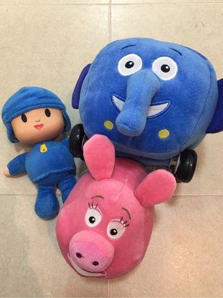 Muñecos varios, Pack de 3 muñecos nuevos