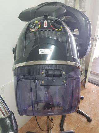 secador de casco peluqueria