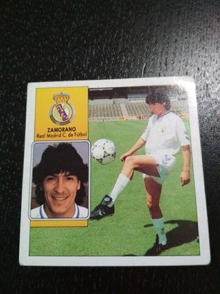 Cromo Ivan Zamorano Real Madrid liga 92-93