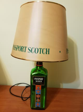 Lámpara Botella whisky