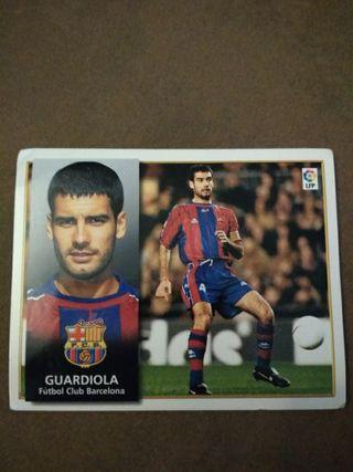 Cromo Guardiola FC Barcelona Liga 98-99