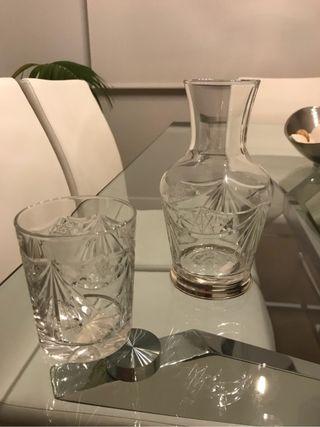 Juego cristalería