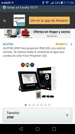 FOCO PROYECTOR LED 20W