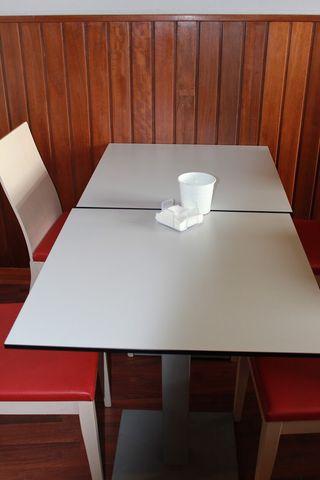 Mobiliario cafeteria