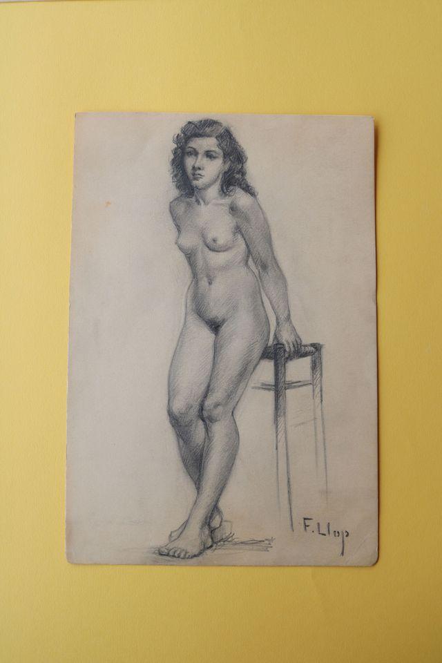Desnudo femenino 2 Francesc Llop i Marqués