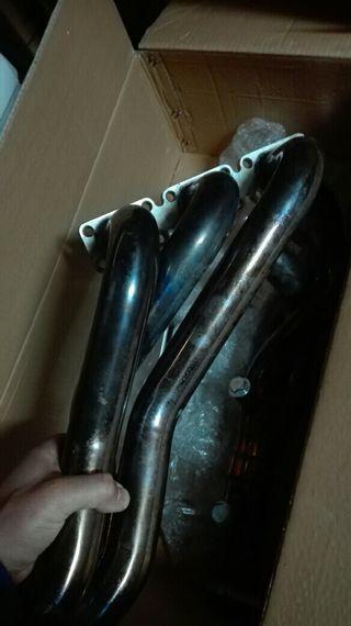 Colectores acero inox technix bmw 330ci 325 320e46