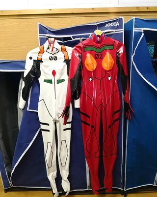 Evangelion látex cosplay
