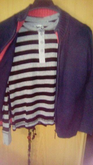 Jersey y chaqueta de niño.