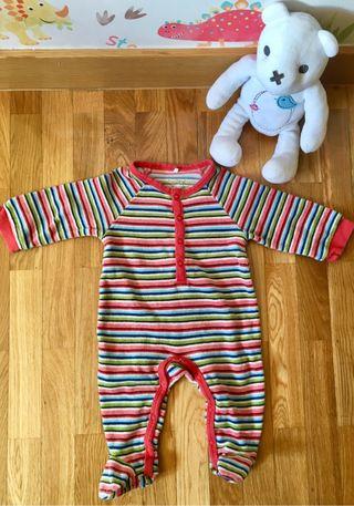 Pijama terciopelo bebe T3meses