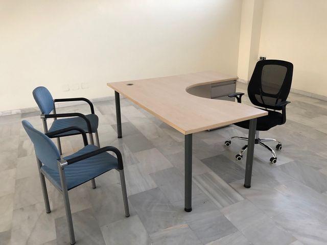 Mesas oficina de segunda mano por 95 € en Sevilla - wallapop