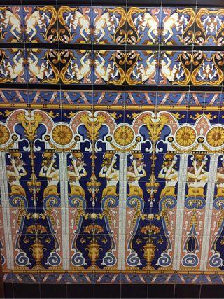 Azulejos mosaico sevillano/valenciano