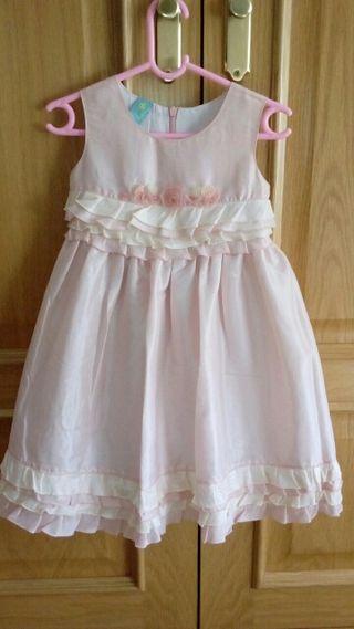 Vestido ceremonia niña 3 años