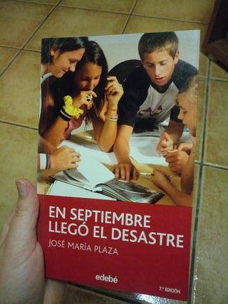 Libro En septiembre llegó el desastre.