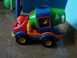 hormigonera.juguete infantil con sonidos
