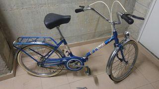 Bicicleta plegable bh. años 80