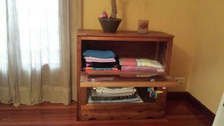 muebles madera y cristal
