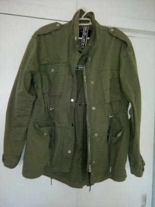 chaqueta verde berska talla S-M