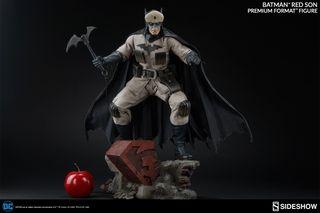 SIDESHOW PREMIUM FORMAT BATMAN RED SON