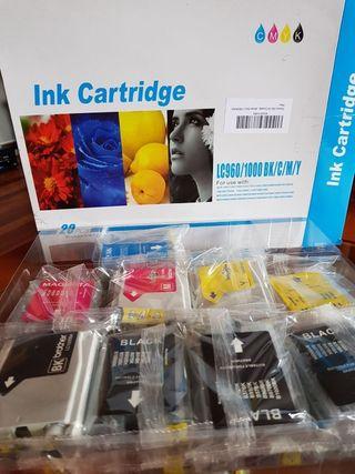 Tinta impresora sin estrenar