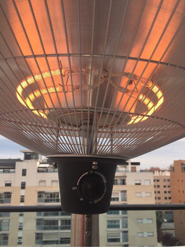 Estufa eléct. de terraza