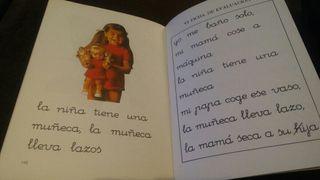 Cartilla lectura nene, oye 1975